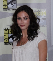 Joanne Kelly Warehouse 13 Pressroom - Comic Con 2009