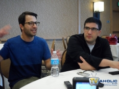 Creators Edward Kitsis & Adam Horowitz at Comic-Con 2013