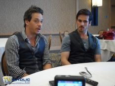 Michael Raymond-James & Colin O\'Donoghue at Comic-Con 2013