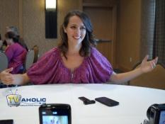 Amy Acker at Comic-Con 2013