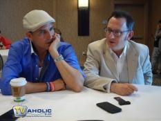 Jim Caviezel & Michael Emerson at Comic-Con 2013
