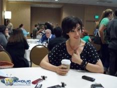 Maggie Siff at Comic-Con 2013