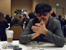 Tommy Flanagan at Comic-Con 2013