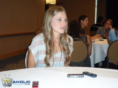 Tracy Spiridakos of NBC\'s Revolution