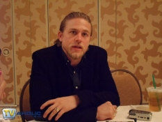 Charlie Hunnam of Sons of Anarchy at Comic-Con 2012