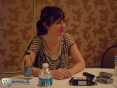 Maggie Siff of Sons of Anarchy at Comic-Con 2012