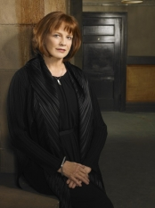 FRINGE: When an unlikely trio uncovers a deadly mystery that involves a series of unbelievable events, they discover it may be part of a larger, more disturbing pattern that blurs the line between science fiction and technology on FRINGE airing Tuesdays (9:00-10:00 PM ET/PT) this fall on FOX. Pictured: Blair Brown as Nina Sharp ©2008 Fox Broadcasting Co. Cr: Michael Lavine/FOX