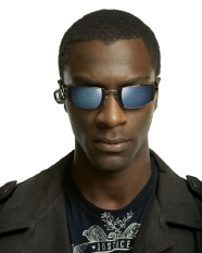 Aldis Hodge as Alec Hardison of Leverage on TNT