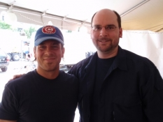 Christian Kane and Jason the TVaholic