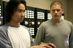"James Hiroyuki Liao & Wentworth Miller in \""Shut Down\"" - Cr: Greg Gayne/FOX"