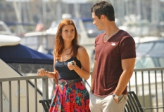 Brian Hallisay & JoAnna Garcia in Privileged - Photo: Scott Humbert/The CW