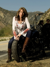 Katey Sagal as Gemma Teller in Sons of Anarchy - CR: Timothy White / FX
