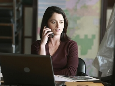 Robin Tunney in The Mentalist - Photo: Courtesy CBS