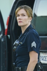 Catherine Dent in The Shield S.7 Ep.1 - CR: Prashant Gupta / FX