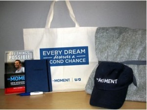 The Moment Gift Bag Prize Pack