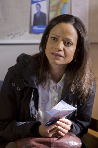 Judy Reyes in Little Girl Lost: The Delimar Vera Story - Photo CR: Lifetime Movie Network