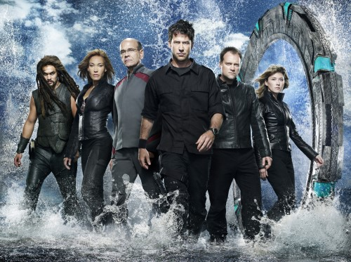 Stargate Atlantis Season 5 Cast Logo