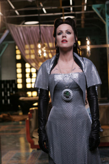 Kathleen Robertson as Azkadellia in the Sci Fi Channel Original Miniseries Tin Man