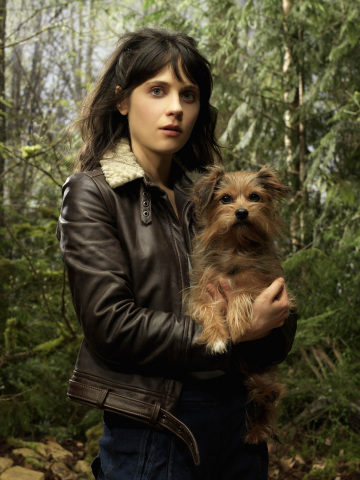 Zooey Deschanel as DG in the Sci Fi Channel Original Miniseries Tin Man
