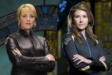 Amanda Tapping & Jewel Staite of Stargate Atlantis - CR: Matthias Clamer & Eike Schroter / Sci Fi