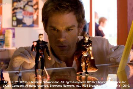 Dexter and the Dark Defender Action Figure