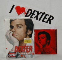 I Love Dexter Season One DVD Prize Pack 1
