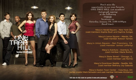 Meet the Cast of One Tree Hill at Macy's