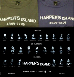 Harper's Island T-Shirts & Poster Prize Pack