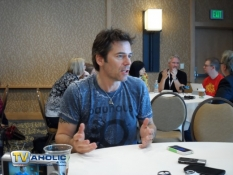 Billy Burke at Comic-Con 2013