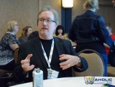 Executive Producer Rockne S. O\'Bannon at Comic-Con 2013
