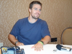 Stephen Amell of The CW's Arrow