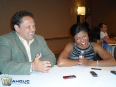 Kevin Chapman and Taraji P. Henson of CBS\' Person of Interest