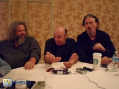 Mark Boone Junior, Dayton Callie & Tommy Flanagan of Sons of Anarchy at Comic-Con 2012