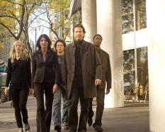 Beth Riesgraf, Gina Bellman, Christian Kane, Timothy Hutton & Aldis Hodge