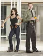 Sarah Shahi & Damian Lewis in Life - NBC Photo: Mitchell Haaseth