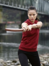 Jaime Chung in ABC Family\'s Samurai Girl Miniseries. - Photo CR: ABC Family