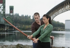 Brendan Fehr and Jaime Chung in ABC Family\'s Samurai Girl Miniseries. - Photo CR: ABC Family