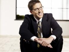 Spike Feresten of Talkshow With Spike Feresten on FOX - CR: James Dimmock/FOX