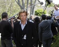 Simon Baker in The Mentalist on CBS. Photo: Courtesy CBS