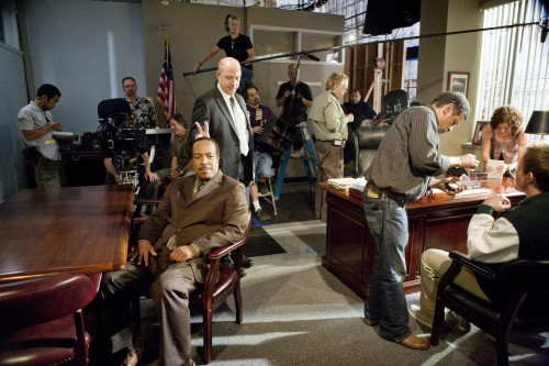 Simmons & Gossett Behind the Scenes - Photo CR: Karen Neal