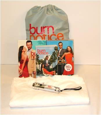 Burn Notice DVD Prize Pack