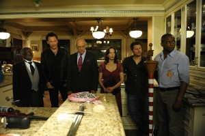 Christopher Lloyd and Leslie Ann Warren in Psych' 100th Episode