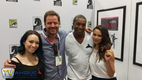 Dark Matter Cast at Comic-Con 2015