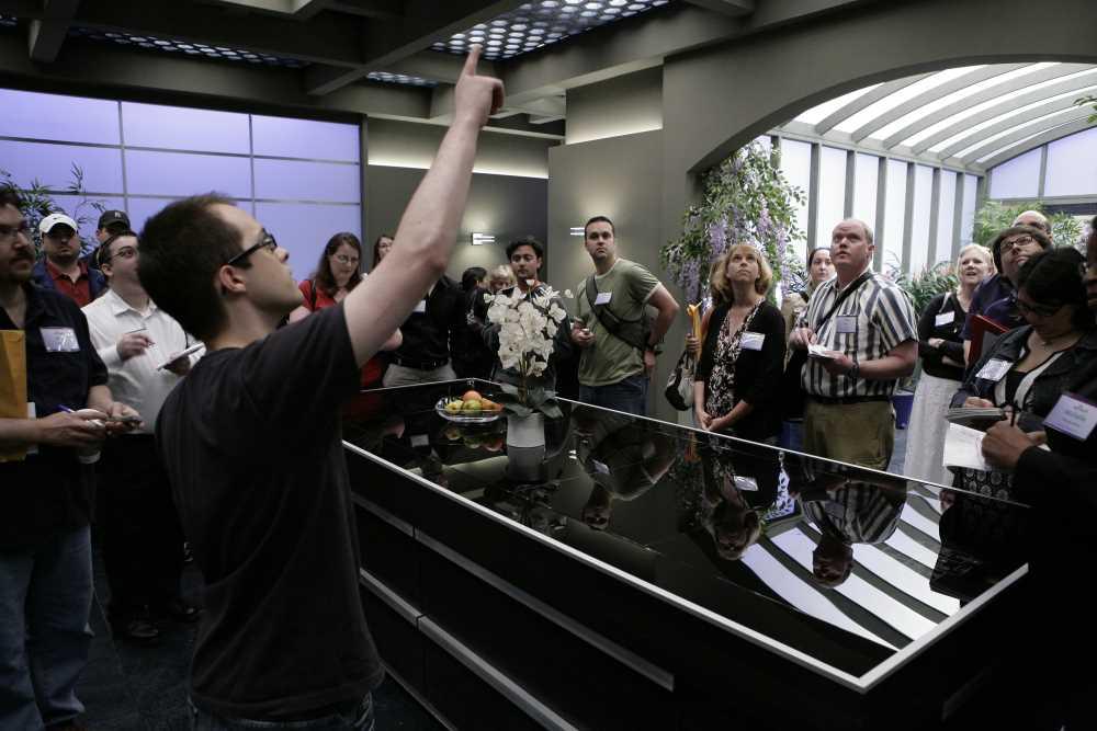 Neil Grayston Giving a Tour of the Eureka Smart House Kitchen