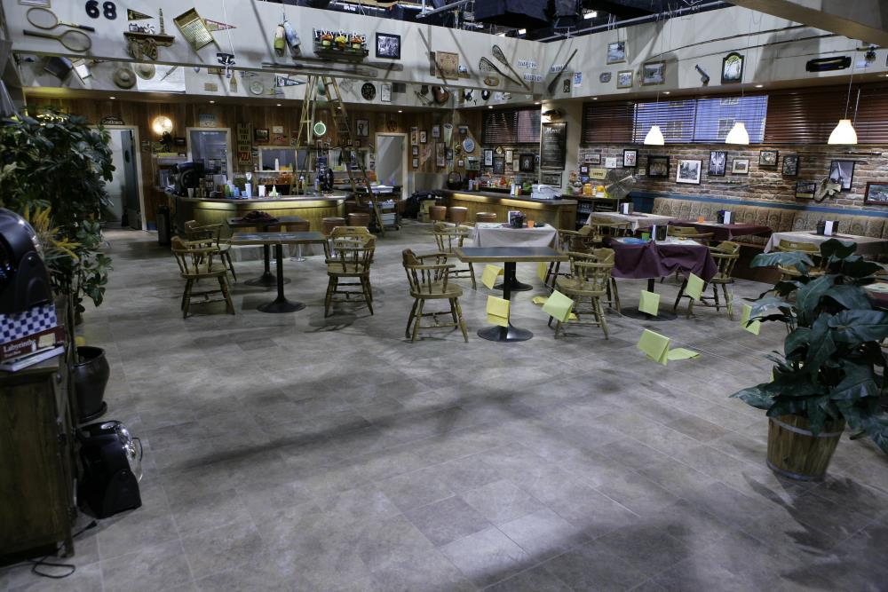 Eureka Cafe Diem Set Being Prepped for Sonic Pulse f/x Shot