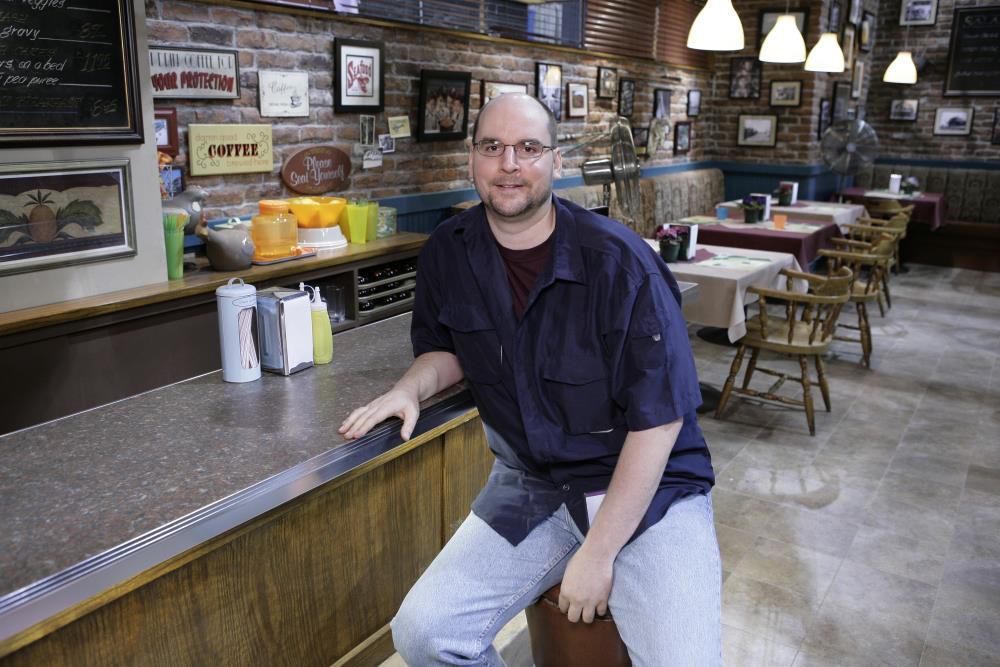 Jason the TVaholic at Cafe Diem